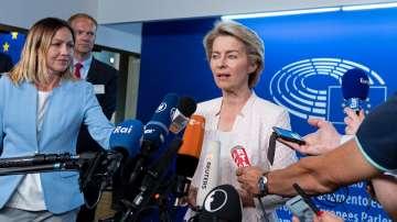Урсула фон дер Лайен се среща с политическите групи в ЕП