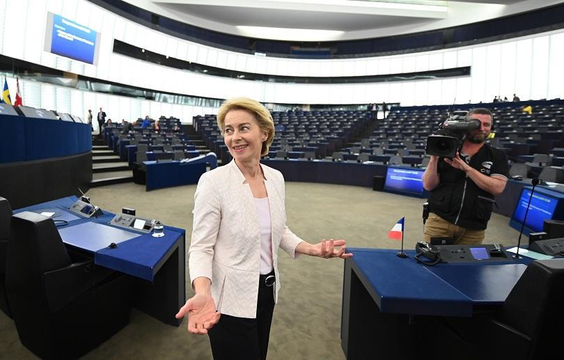 В 19 ч. в Страсбург ще започне гласуването на Урсула