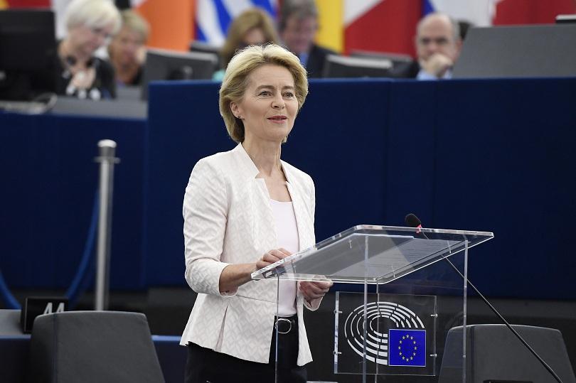 В Страсбург приключи гласуването на Урсула фон дер Лайен за