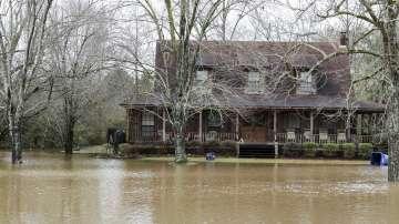 Зимни бури и наводнения в САЩ