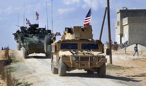 Американски военни сили в района на Алепо