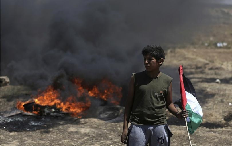 снимка 4 Протести с десетки жертви след откриването на посолството на САЩ в Ерусалим