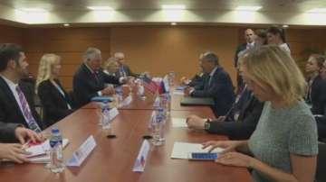 Първите дипломати на САЩ и Русия разговаряха в Манила