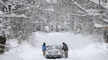 Снежни бури в северните части на САЩ