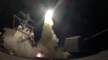 Американски удари в Сирия в отговор на химическата атака