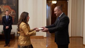 Новият посланик на САЩ връчи акредитивните си писма на президента