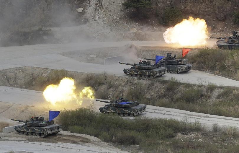 южна корея сащ обявят отказа големи военни учения