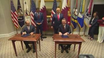 Катар и САЩ подписаха търговски споразумения