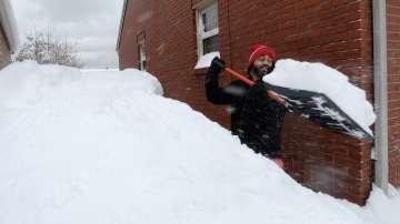 Рекордни количества сняг паднаха в американския щат Пенсилвания (СНИМКИ)