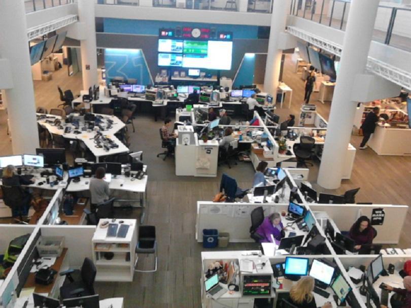 Нюзрумът на NPR – национално обществено радио