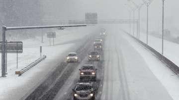 Зимна буря създаде тежка пътна обстановка в южните райони на САЩ