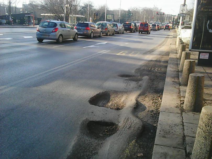 пролет пукна асфалтът