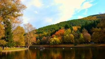 Слънчево и топло в парк Бачиново - Благоевград