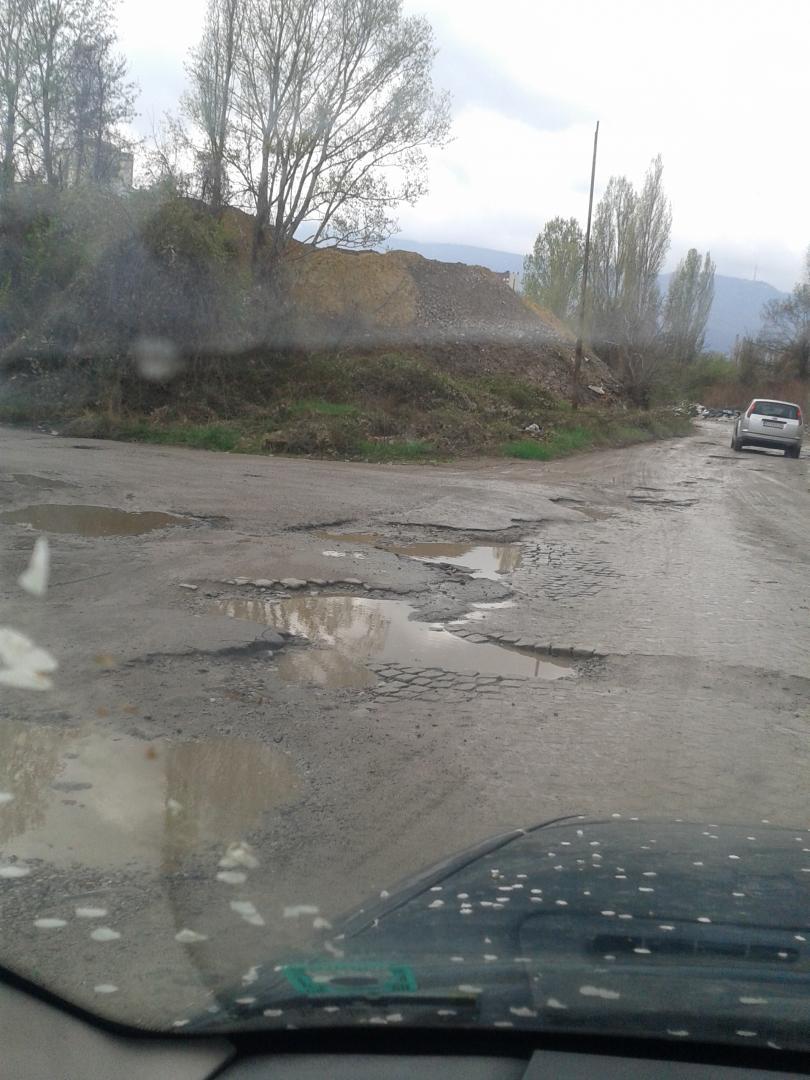 снимка 1 Дупки по пътищата