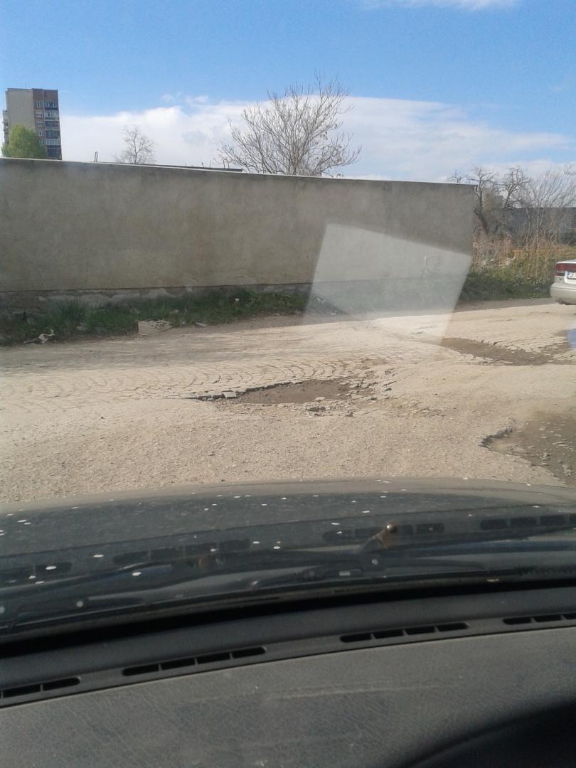снимка 6 Дупки по пътищата