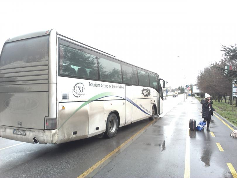 снимка 1 Инцидент Юнион Ивкони в Бургас