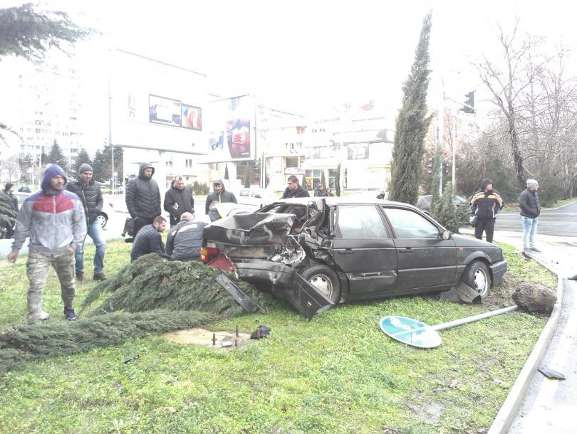 снимка 3 Инцидент Юнион Ивкони в Бургас