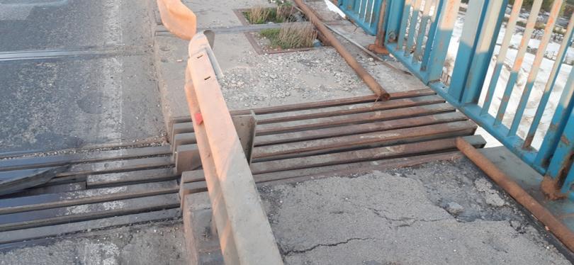 снимка 1 Лошо състояние на фугите на Аспаруховия мост във Варна
