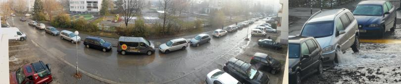 снимка 3 Вода извира от автомобил