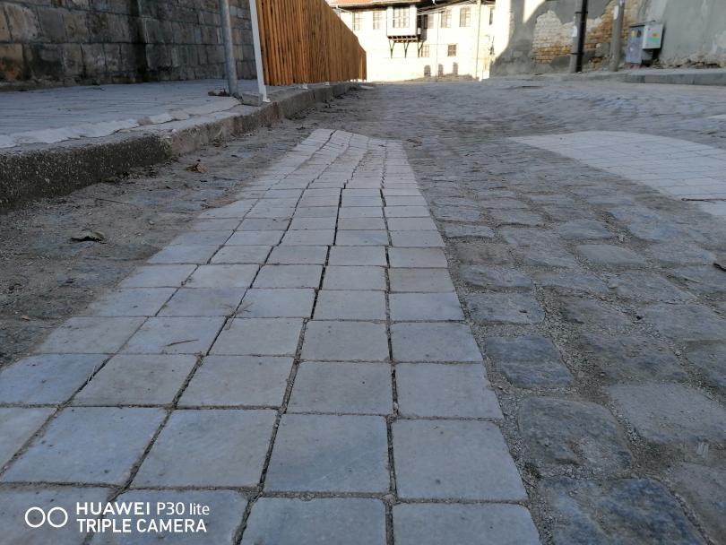 снимка 3 Иновативна пешеходна пътека в Свищов