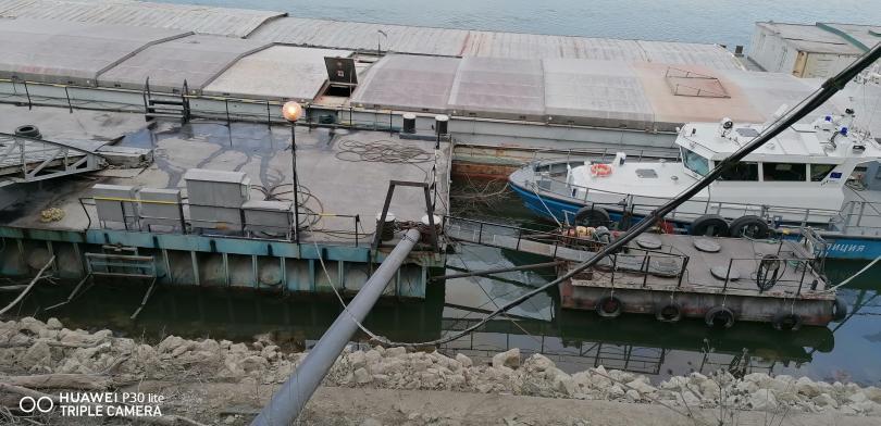 снимка 1 Маловодие и на... Дунав!