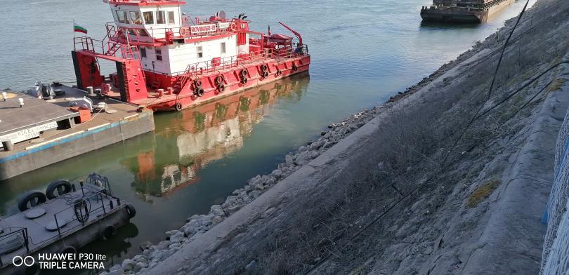 снимка 4 Понижението на Дунав при Свищов продължава