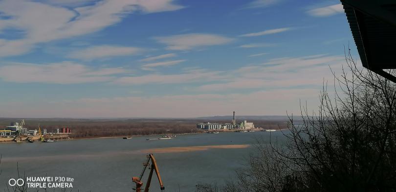 снимка 1 Понижението на Дунав при Свищов продължава