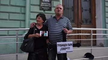 Росен Марков протестира за кръгово движение против катастрофи