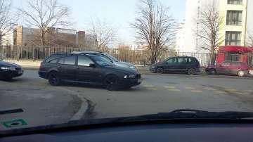 Ето как се паркира в Студентски град