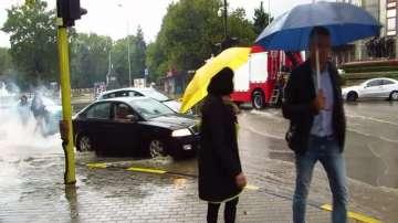 Потоци по улиците на Варна