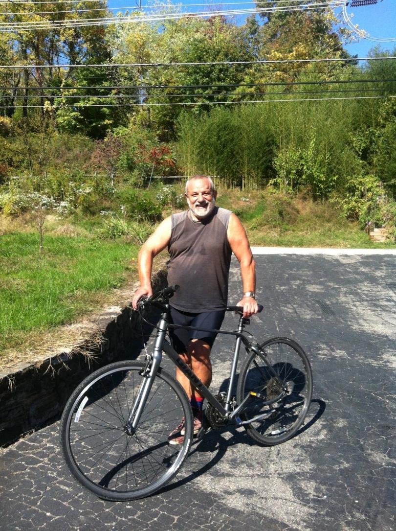 6c71b39431e В Щатите съм от двадесет години, петнадесет, от които съм ходил на работа  само с колело и то все през тези уникални гори на Филаделфия.