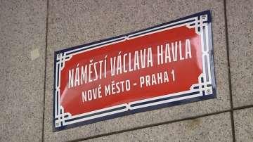 Площад в Прага ще носи името на Вацлав Хавел