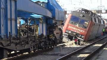Няма изтичане на газ след дерайлирането на товарния влак, превозващ пропан-бутан