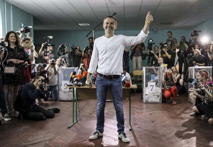 Пет политически формации влизат в новия украински парламент след предсрочните