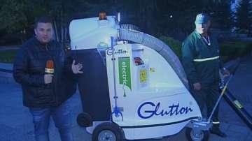 Нова вакуумна машина събира отпадъците в Пловдив