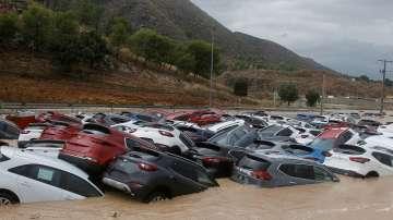 Поройни дъждове предизвикаха наводнения във Валенсия