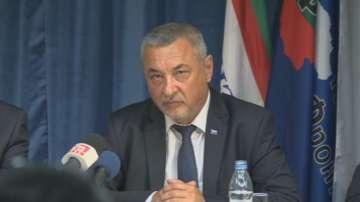 Валери Симеонов: НФСБ ще гласува против подадените министерски оставки