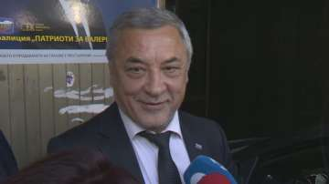 Валери Симеонов: Решението да се явим отделно беше на ВМРО