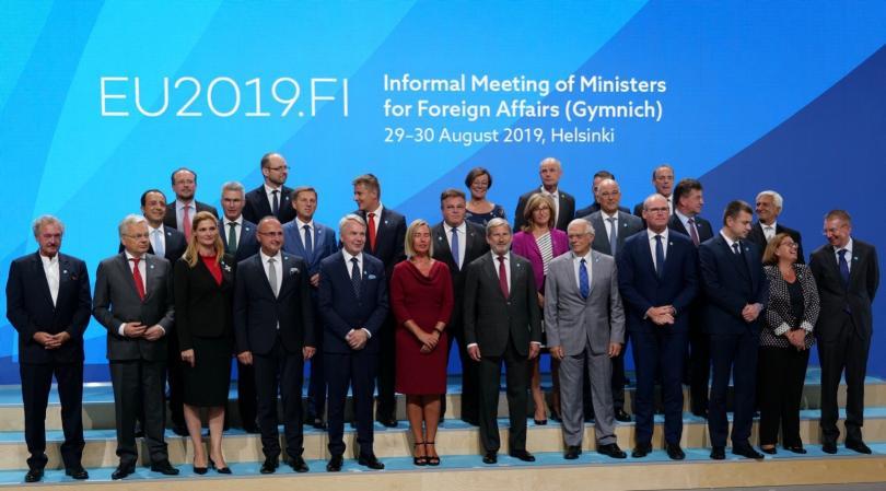 Министрите на външните работи на Европейския съюз и на страните