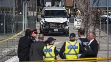 Полицията е задържала водача на вана, който уби 10 души в Торонто