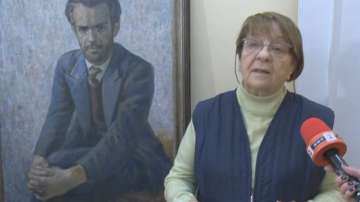 Племенничката на Вапцаров представи част от новооткритите стихове на поета