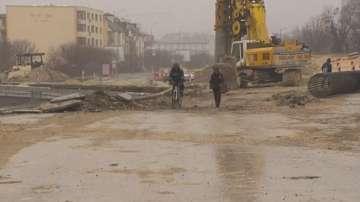 Ремонтите във Варна затрудняват движението