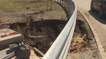 Новият булевард във Варна пострада от силната буря