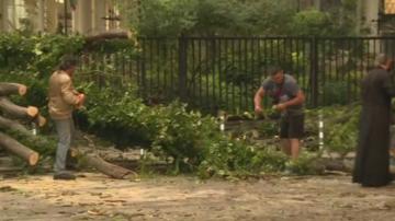 Бурята нанесе материални щети във Варна