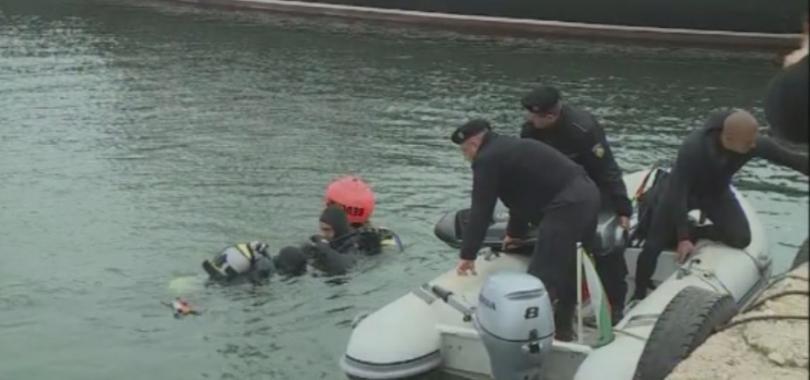 Спасителният разузнавателен отряд към Военноморските сили получи нова техника за