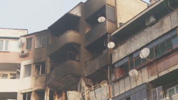 Обитателите на взривения блок във Варна още са в стрес от експлозията