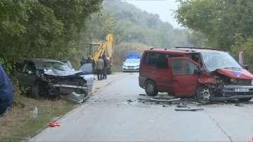 Една жертва и четирима ранени след тежка катастрофа край Варна