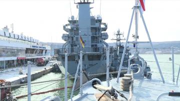 Кораби от НАТО акостираха във Варна за съвместно плаване
