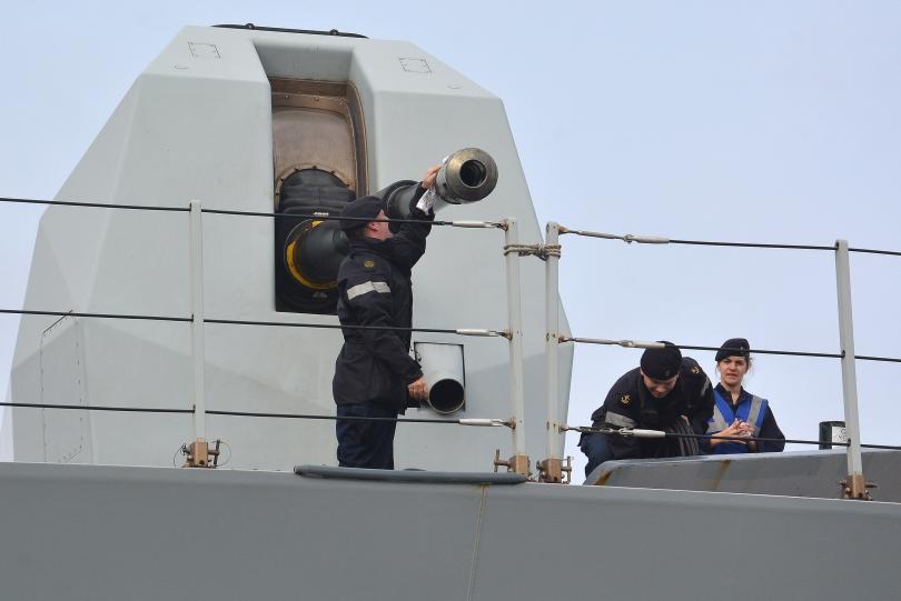 снимка 6 Група патрулни кораби на НАТО акостира във Варна (СНИМКИ)