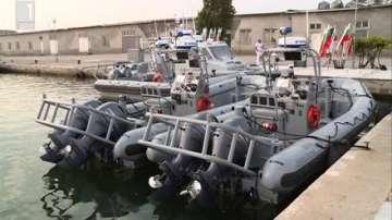 Американското правителство подари на българския флот 4 бързоходни лодки